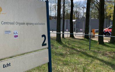 'Zorgwekkende situaties bij azc's': voor Hessels herkenbaar, maar niet meer aan de orde in Echt