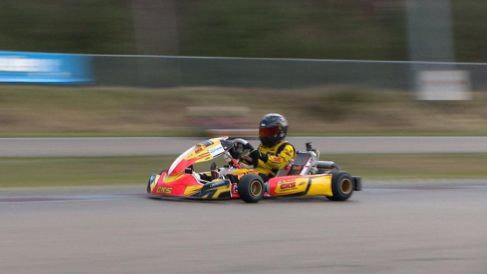 Reno Francot (13) uit Echt wint in Wackersdorf