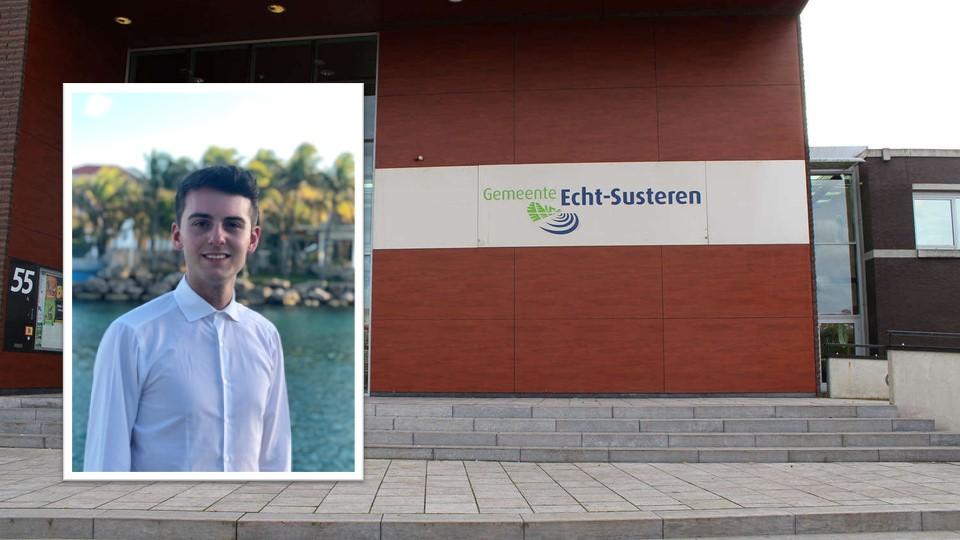 Tom Denis (22) lijsttrekker voor D66 in Echt-Susteren