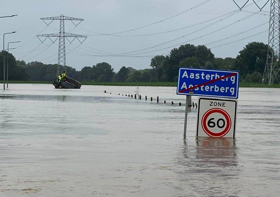 Gemeente gaat hoogwater evalueren met bewoners tussen Maas en kanaal