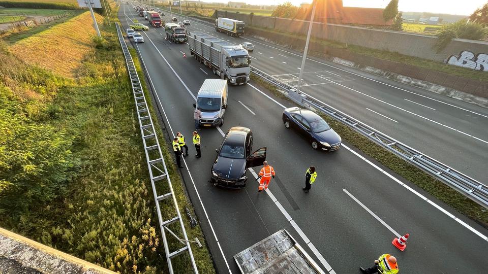 Flinke files op A2 en A73 door ongeval bij Echt