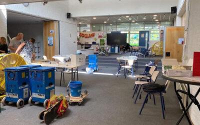 Basisschool In 't Park nog zeker tot januari dicht na schade door hoosbui